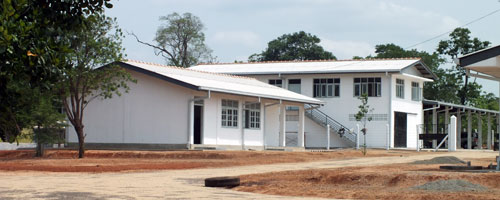Amil Builders Indutrial Projects - SLTB Depot at Horowpothana